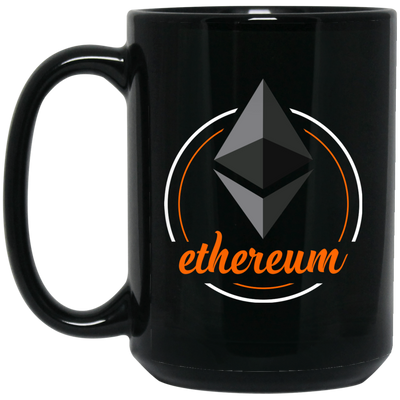 Ethereum Black Coffee Mug - ETH