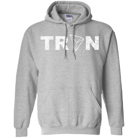 Tron Pullover Hoodie - TRX Distressed