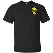 Load image into Gallery viewer, Litecoin T-Shirt - LTC Skull Eyes Chest