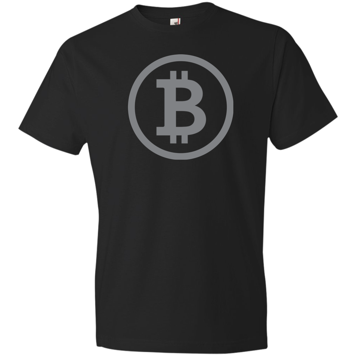 Bitcoin Classic Black T-Shirt - Short-Sleeve (Mens / Unisex)