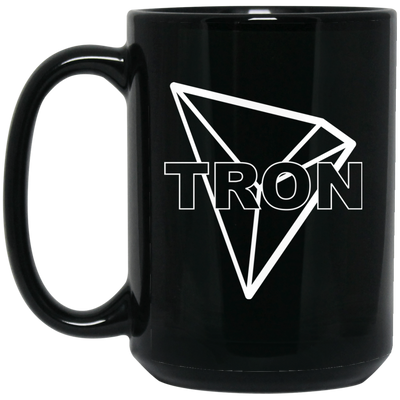 Tron Black Coffee Mug - TRX