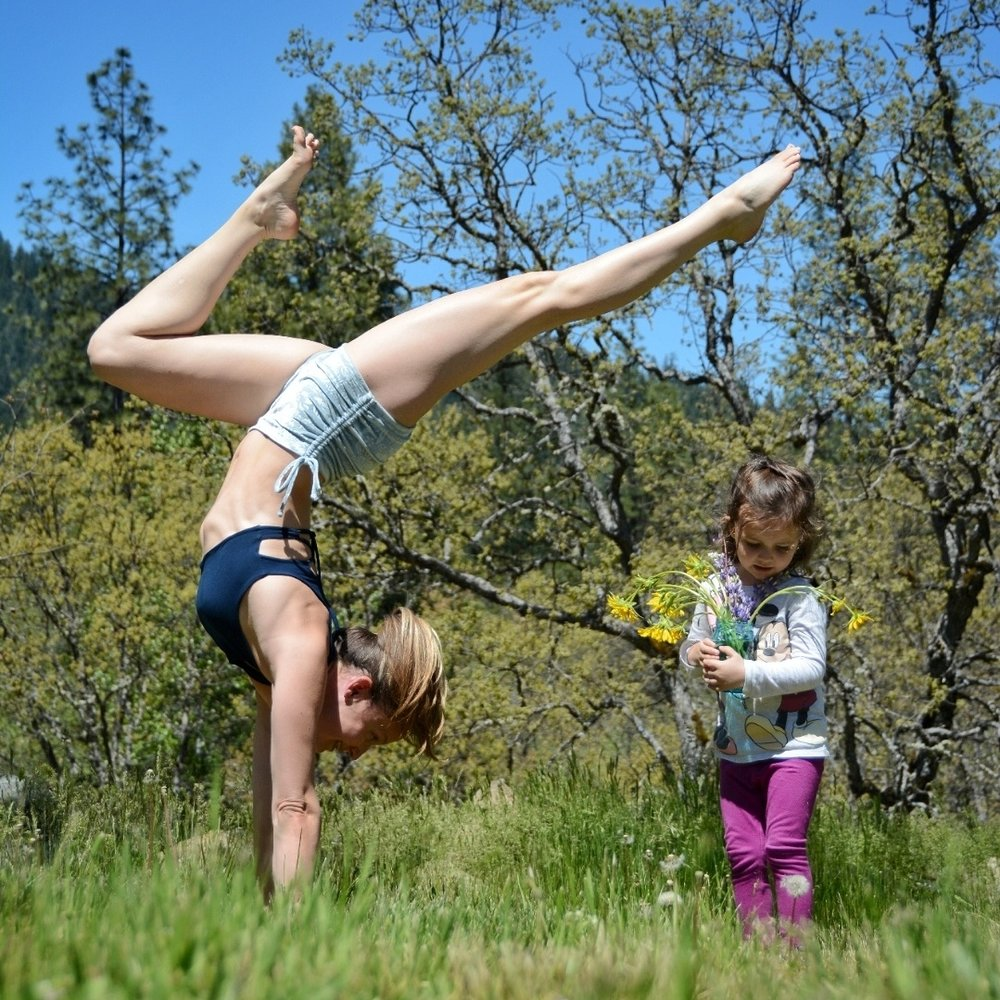 Share yoga with your child