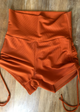 Spice Rib High Waist Short