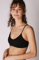 Wavy Rib Low Back Bralette