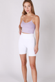 Simple Skinny Strap Cropped Cami