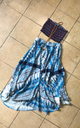 Arabian Blue Sufi Skirt by Daughters of Culture