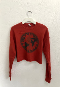 Woman of the World Rust Sweater by Daughters of Culture