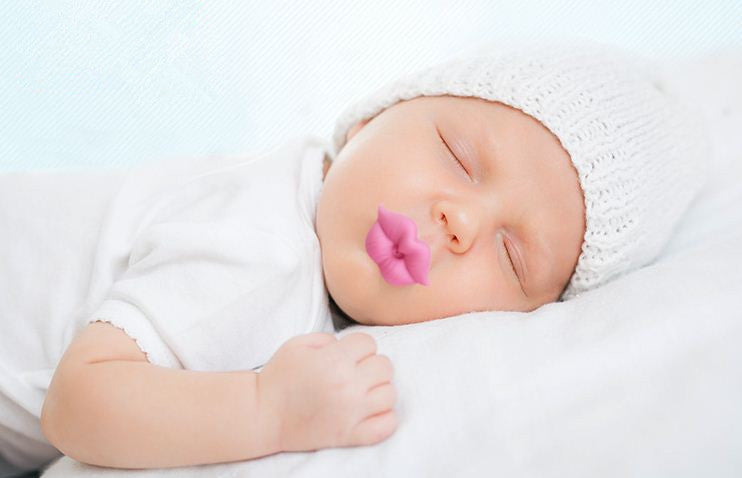 Pucker Lips Pacifier - Multiple Colors