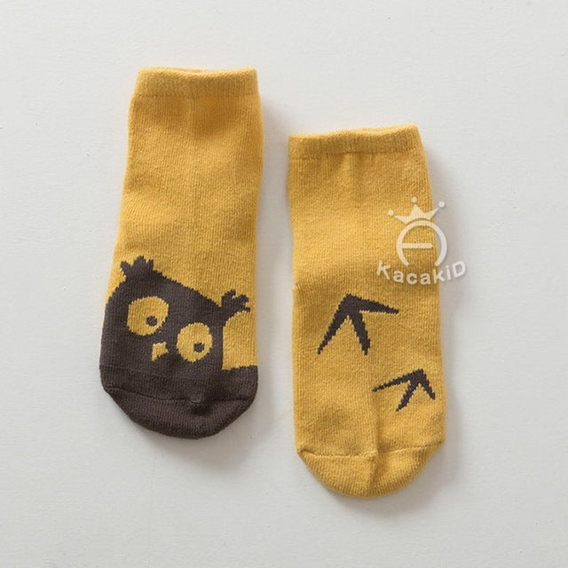 Cotton Socks with Non-Slip Bottom