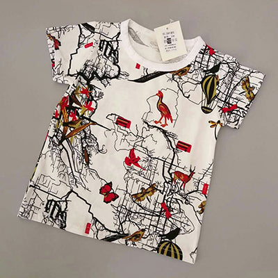 Boy's Pull-Over Fashion T-Shirts - Multiple Styles