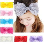 Dainty Lace Headband - Multiple Colors