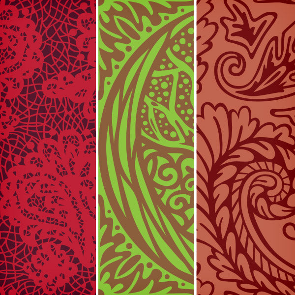 New Designer Toolbox Freebie: 3 Seamless Vector Patterns from Laura Worthington