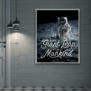Create an Apollo 11-Inspired Typographic Space Poster