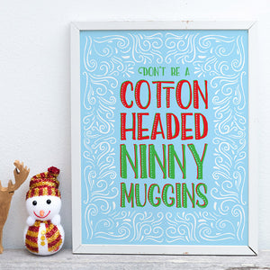 Create a Funny Typographic Holiday Poster in Illustrator