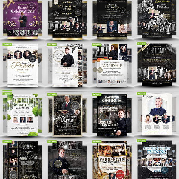 FlyerHeroes Faith Bundle Flyer Template Giveaway Winner