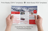 56 Premium Flyer, Brochure, and Business Card Templates - Only $21 - MyDesignDeals