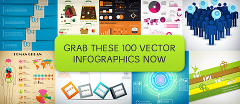 100 Vector Infographic Templates - Only $18 - MyDesignDeals