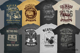 101 Vintage T-Shirt Designs - Just $19 - MyDesignDeals