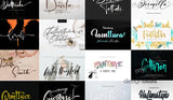 Mega Handwritten Fonts - Only $19 - MyDesignDeals