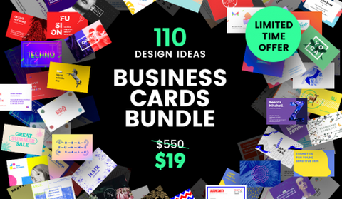 110 Absurdly Useful & Adaptable Business Card Templates - MyDesignDeals