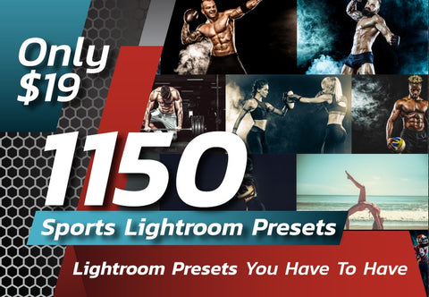 1150 Sports Lightroom Presets - Just $19 - MyDesignDeals