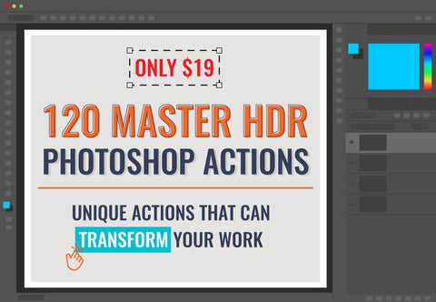 120 Master HDR Photoshop Actions - Just $19 - MyDesignDeals