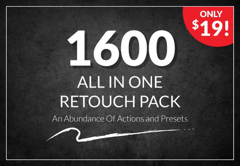 1600 All In One Retouch Pack - Just $19 - MyDesignDeals