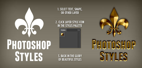 164 Premium, Handcrafted Photoshop Styles - Only $19 - MyDesignDeals
