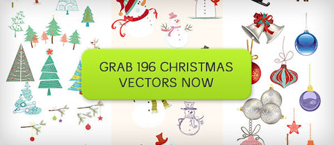 196 Premium Christmas Vectors (and Bonuses) - Only $19 - MyDesignDeals