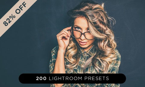 200 World Class Lightroom Presets - Only $37 - MyDesignDeals
