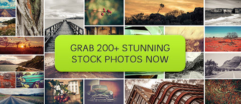 Over 200 Stunning Stock Photos - Only $18 - MyDesignDeals