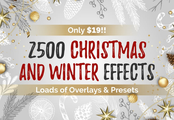 2500 Christmas And Winter Effects - Just $19 - MyDesignDeals