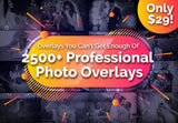 2500 Professional Photo Overlays - Just $29 - MyDesignDeals