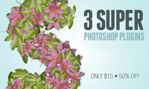3 Super Unique Photoshop Plugins - Only $15 - MyDesignDeals