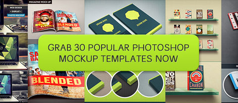 30 Popular Photoshop Mockup Templates - Only $19 - MyDesignDeals