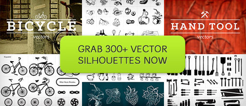 300+ Vector Silhouette Collection - Only $12 - MyDesignDeals