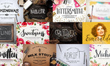 33 New and Incredible Fonts (Plus Hundreds of Freebies) - Only $39 - MyDesignDeals