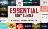 37 Essential Fonts for Designers (Plus Extras) - MyDesignDeals