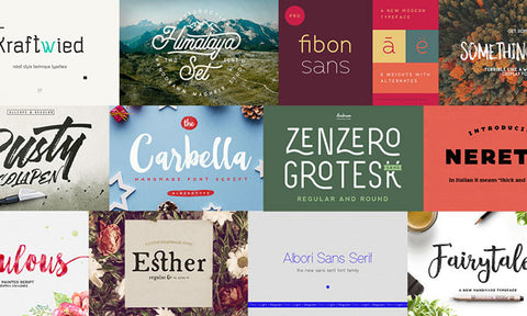 39 Distinct New Fonts for the Diverse Designer - MyDesignDeals