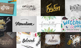 39 Fonts for Typography Fanatics (Including Hundreds of Extras) - Only $39 - MyDesignDeals