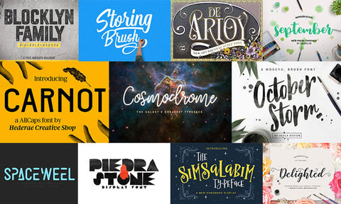 40 Absurdly Attractive Fonts (Plus Freebies) - Only $39 - MyDesignDeals