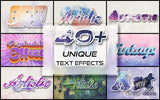 40 Unique Text Effects - Just $19 - MyDesignDeals