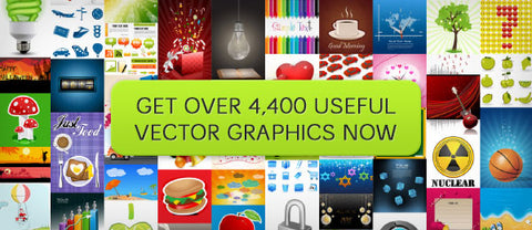 Over 4,400 Useful Vector Graphics Worth Over $3,000 - Only $49 - MyDesignDeals