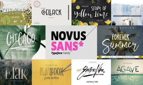 45 Unique New Fonts to Better Your Designs (Plus Extras) - MyDesignDeals
