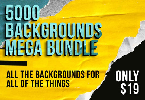 5000 Backgrounds Mega Bundle - Just $19 - MyDesignDeals
