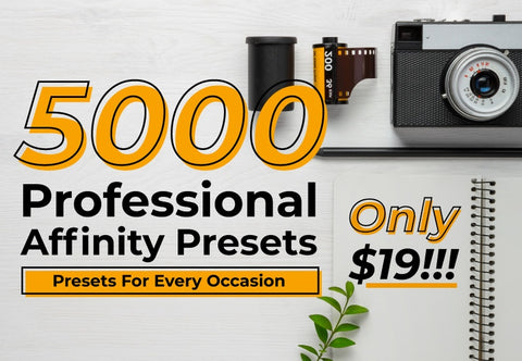 5000 Professional Affinity Presets - Just $19 - MyDesignDeals