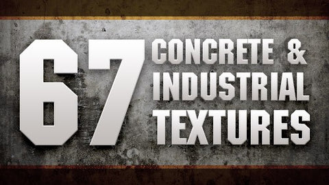 67 Concrete and Industrial Textures with Extended Licensing - Only $10 - MyDesignDeals