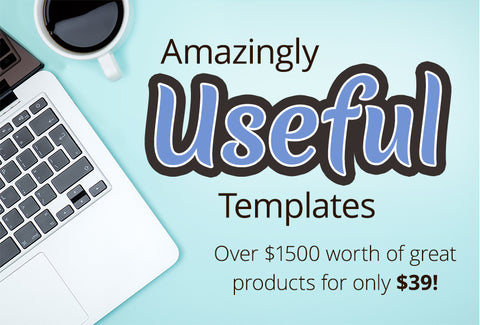 Amazingly Useful Templates - Worth Over $1500 - MyDesignDeals