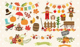 Autumn Harvest Graphics - Just $29! - MyDesignDeals