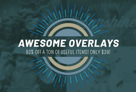 Awesome Overlays - 93% OFF - Only $39 - MyDesignDeals